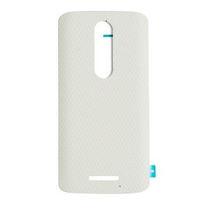 Back Cover for Motorola Droid Turbo 2 / Moto X Force (XT1580 / XT1585) (Authorized OEM) - White