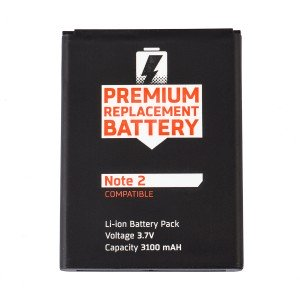 Battery for Samsung Galaxy Note 2 (MDSelect)