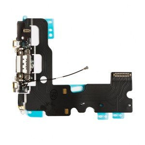 "Charging Port Flex Cable for iPhone 7 (4.7"") - White"