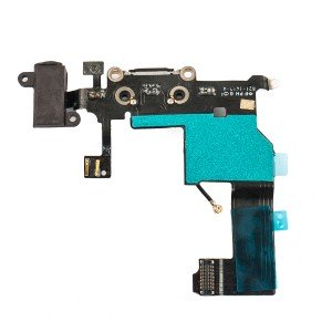 Charging Port Flex Cable for iPhone 5 - Black