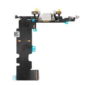 """Charging Port Flex Cable for iPhone 8 Plus (5.5"""") - Silver"""