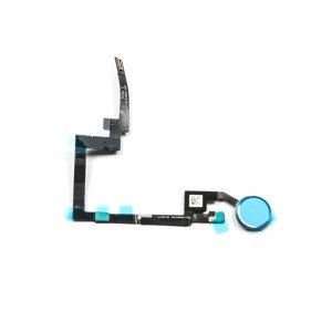 Home Button Flex Cable for iPad Mini 3 - Silver (No Touch ID)