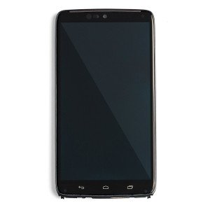 LCD & Digitizer Frame Assembly for Motorola Droid Turbo (XT1254) (Authorized OEM) - Black