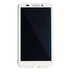 LCD & Digitizer Frame Assembly for Motorola Droid Ultra / Droid Maxx (XT1080) (Authorized OEM) - White