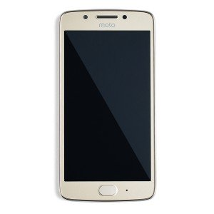 LCD Frame Assembly for Moto G5 (XT1670) (Authorized OEM) - Gold