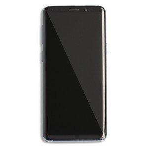 OLED & Digitizer Display Assembly (w/Frame) for Samsung Galaxy S9 (Prime - OEM) - Coral Blue