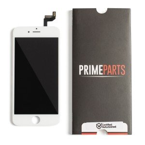 "LCD & Digitizer Frame Assembly for iPhone 6S (4.7"") (PrimeParts - Premium) - White"