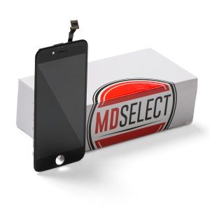 "LCD & Digitizer Frame Assembly for iPhone 6 (4.7"") (MDSelect) - Black"
