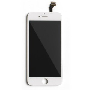 "LCD & Digitizer Frame Assembly for iPhone 6 (4.7"") (MDSelect) - White"