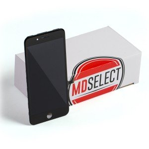 """LCD & Digitizer Frame Assembly for iPhone 7 Plus (5.5"""") (MDSelect) - Black"""