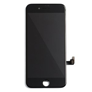 "LCD & Digitizer Frame Assembly for iPhone 8 (4.7"") (MDBasic) - Black (Bulk pricing available for sets of 5 screens)"