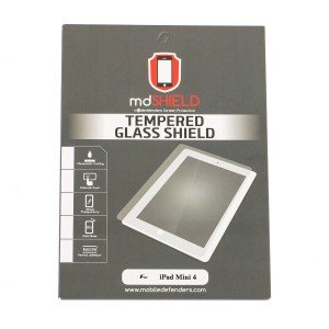 Tempered Glass Shield (0.33mm) for iPad Mini 4 (MD Packaging)