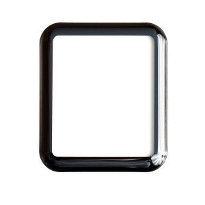 Tempered Glass Shield (0.33mm) for Apple Watch 38mm (3D) (NO Retail Packaging)