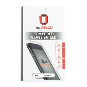 Tempered Glass Shield (0.33mm) for iPhone 7 / iPhone 8 (MD Packaging)