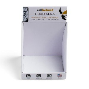 cellhelmet Countertop Display for Liquid Glass