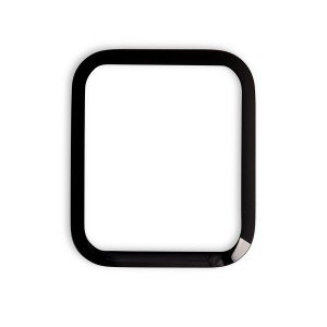 Curved (3D) Tempered Glass for Apple Watch 44mm (NO Retail Packaging) - Black