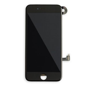 Display Assembly with Small Parts for iPhone 7 (SELECT - EXPRESS) - Black