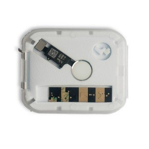 JC Home Button Flex Cable for iPhone 7 / 7+ / 8 / 8+ - Silver (V3 - Universal)