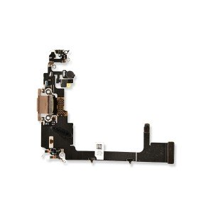 Charging Port Flex Cable with Sub-Board for iPhone 11 Pro - Gold