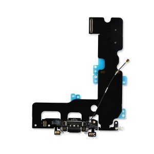 Charging Port Flex Cable for iPhone 7 Plus (SELECT) - Black