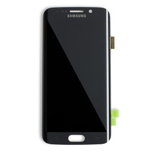 OLED Display Assembly for Galaxy S6 Edge (OEM - Refurbished) - Black Sapphire