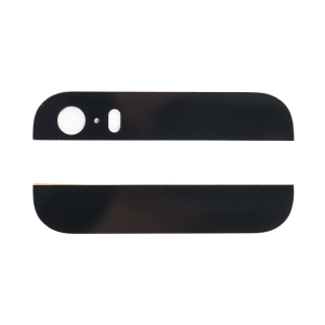 Back Glass for iPhone 5S / iPhone SE (Generic) - Black