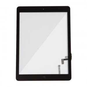 Digitizer & Home Button Assembly (w/ Adhesive) for iPad Air (MDSelect) - Black
