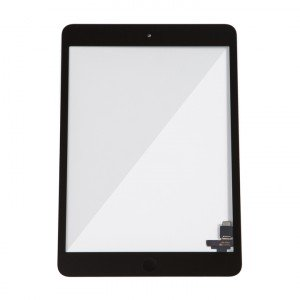 Digitizer (w/ IC Connector & Home Button) for iPad Mini / iPad Mini 2 (Select) - Black