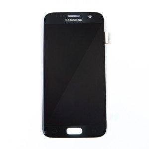 OLED Display Assembly for Galaxy S7 (OEM - Service Pack) - Black Onyx