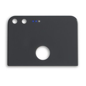 Back Glass with Adhesive for Google Pixel XL - Black