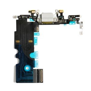 Charging Port Flex Cable for iPhone 8 - Silver
