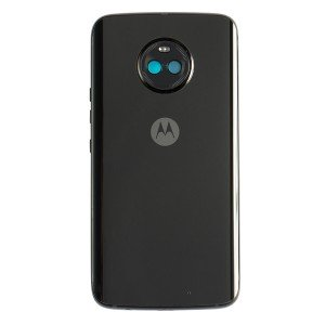 Complete Rear Housing for Motorola Moto X4 (XT1900-01) (Authorized OEM) - Black