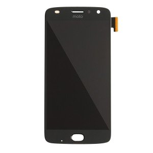 OLED Assembly with Front Flash for Moto Z2 Play (XT1710) (Authorized OEM) - Black