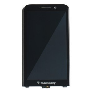 LCD & Digitizer Frame Assembly for BlackBerry Z30 - Black