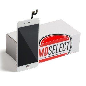 "LCD & Digitizer Frame Assembly for iPhone 6S (4.7"") (MDSelect) - White (Bulk pricing available for sets of 5 screens)"