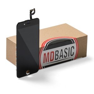 """LCD & Digitizer Frame Assembly for iPhone 6S (4.7"""") (mdBasic) - Black (Bulk pricing available for sets of 5 screens)"""
