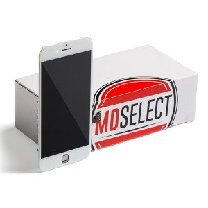 "LCD & Digitizer Frame Assembly for iPhone 7 (4.7"") (MDSelect) - White (Bulk pricing available for sets of 5 screens)"