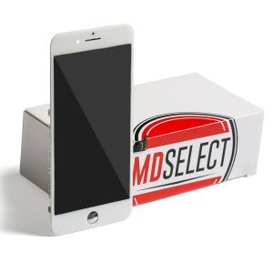 "LCD & Digitizer Frame Assembly for iPhone 7 Plus (5.5"") (MDSelect) - White (Bulk pricing available for sets of 5 screens)"