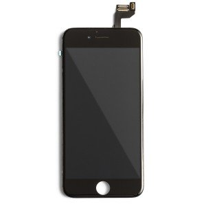"LCD & Digitizer Frame Assembly (w/ Front Cam & Prox. Sensor & Ear Speaker) for iPhone 6S (4.7"") (MDSelect) - Black"