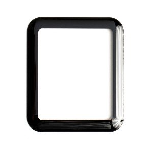 Tempered Glass Shield (0.33mm) for Apple Watch 42mm (3D) (NO Retail Packaging)