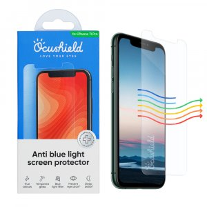 Ocushield Anti-Blue Light Tempered Glass for iPhone 11 Pro / iPhone XS / iPhone X