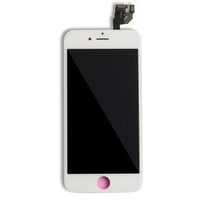 LCD Frame Assembly with Small Parts for iPhone 6 (EXPRESS) - White