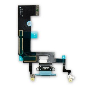 Charging Port Flex Cable for iPhone XR - Blue