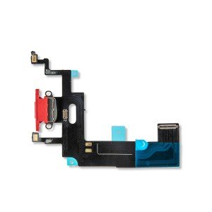 Charging Port Flex Cable for iPhone XR - Red