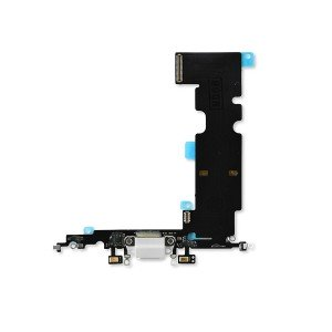Charging Port Flex Cable for iPhone 8 Plus (SELECT) - Silver
