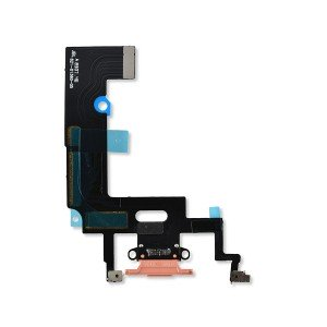 Charging Port Flex for iPhone XR (Select) - Coral