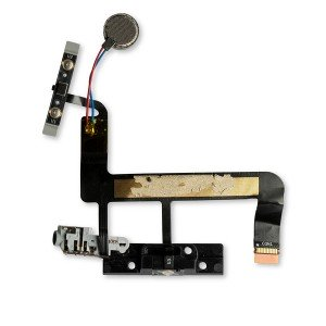 Power, Volume, Headphone Jack and Vibrate Motor Assembly Flex Cable for Microsoft Surface Pro 3 (1631)