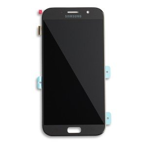 OLED Display Assembly for Galaxy A7 (A720) (OEM - Service Pack) - Black