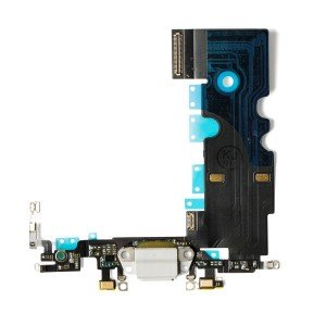 Charging Port Flex Cable for iPhone 8 / SE2 - Silver