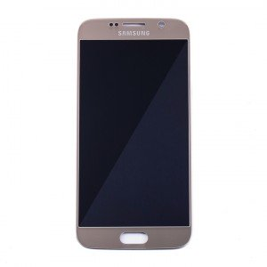 LCD & Digitizer for Samsung Galaxy S6 (Prime - OEM) - Gold Platinum